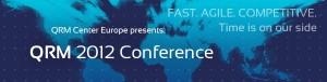 QRM Conferentie 2012