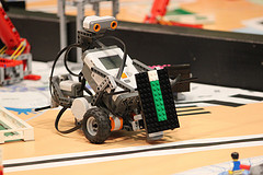Fotoblog: First Lego League bij HAN HLO