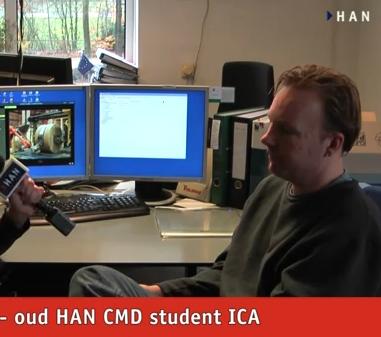 Videoblog: oud HAN CMD student Harold Lentink werkt bij VAPA