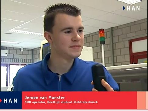 Videoblog: Jeroen van Munster gaat deeltijd Elektrotechniek doen