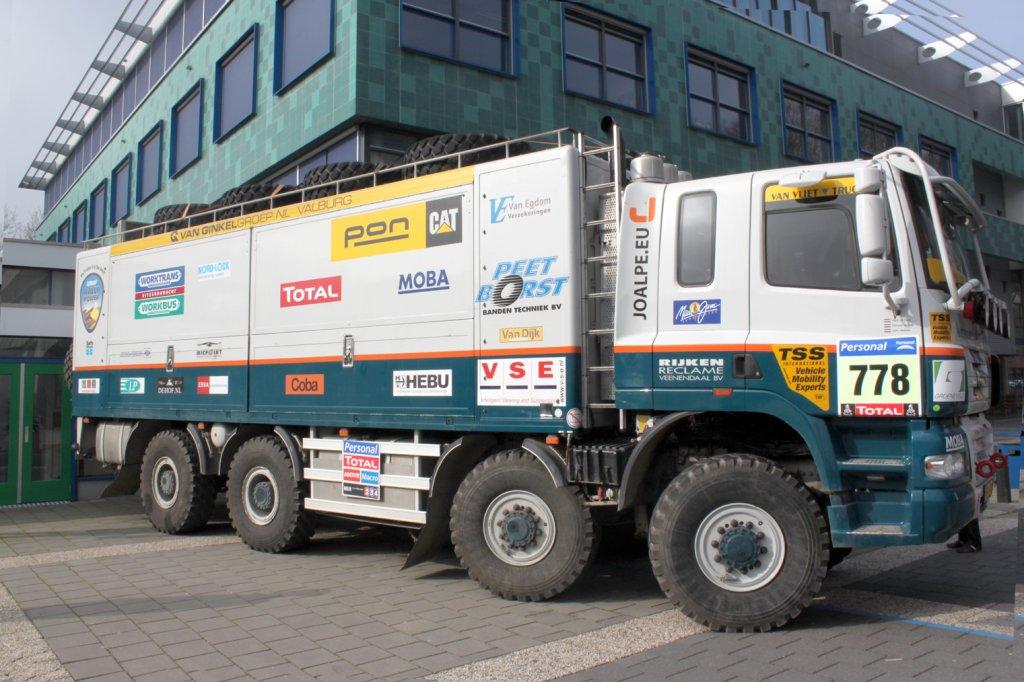 Videoblog: HAN Werktuigbouwkunde student Harmen van Dijk showt Dakar-truck