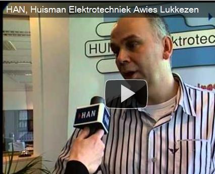 Videoblog: Huisman Elektrotechniek Awies Lukkezen over toekomst elektrotechnici