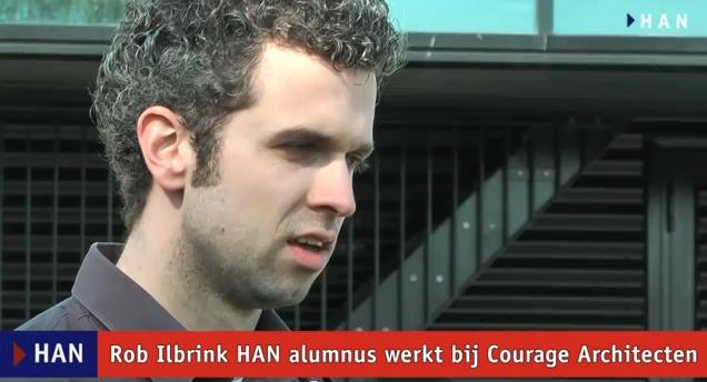 Videoblog: Rob Ilbrink werkt bij Courage Architecten