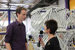 Videoblog: Vincent Weltevreden oud HAN student Technische Bedrijfskunde
