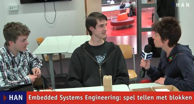 Videoblog: Embedded Systems Engineering spellen voor basisschool – blokken tellen