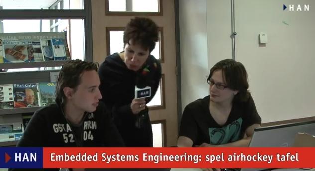 Videoblog: Embedded Systems Engineering spellen voor basisschool – airhockey tafel