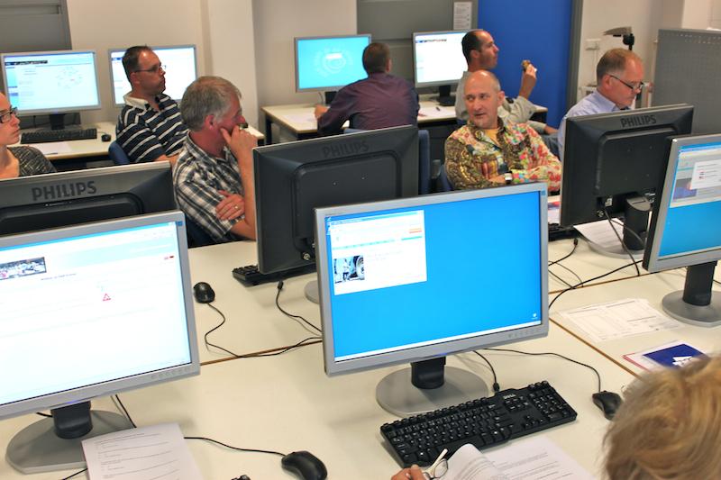 Fotoblog: Workshop informatievaardigheden docenten HAN Built Environment