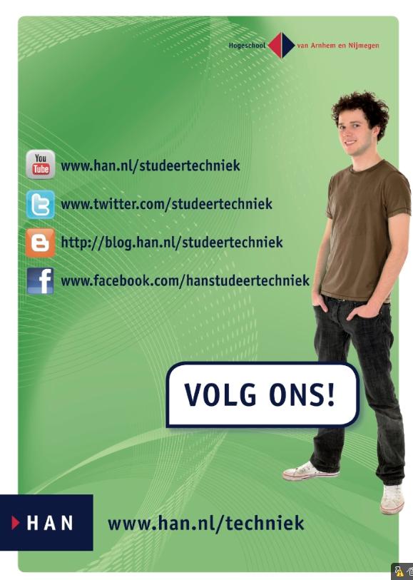 HAN Techniek en social media: Volg ons!
