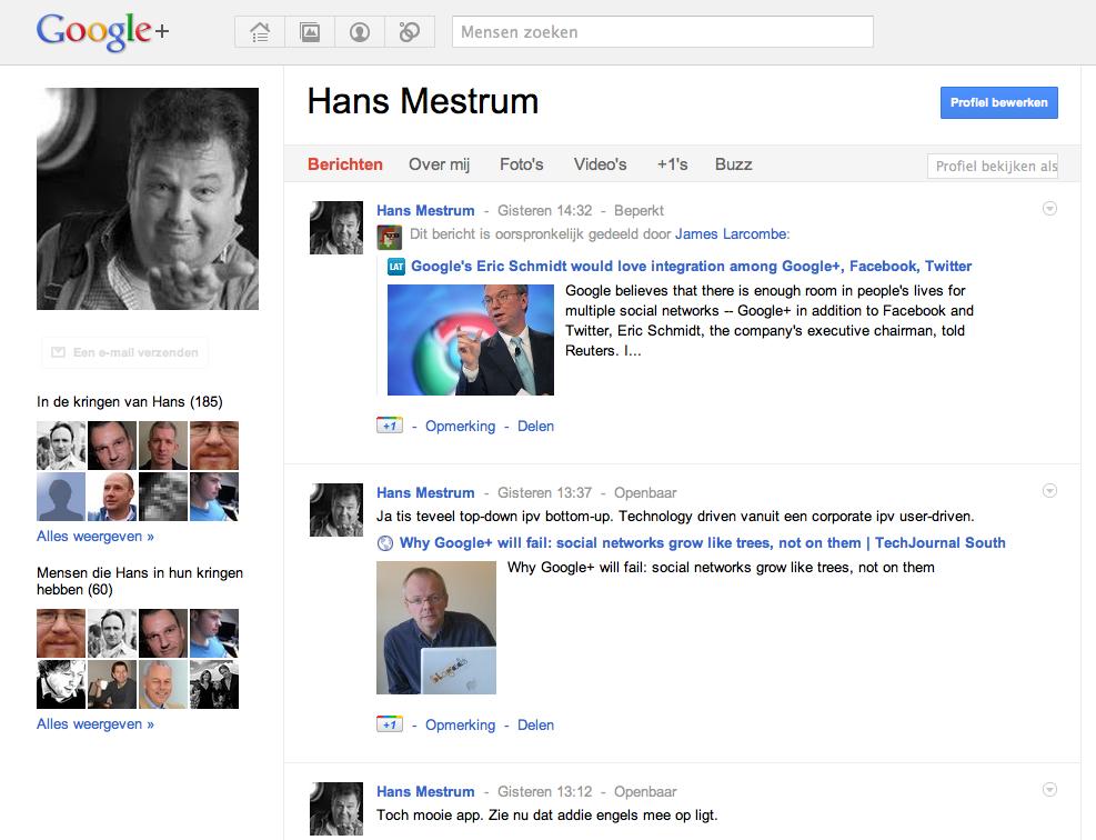 Wil je een Google+ invite?