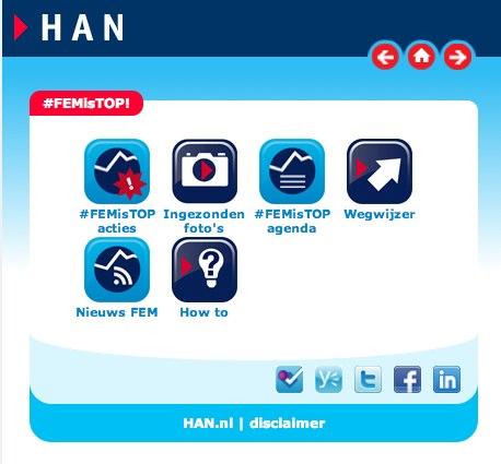 Mooie social media case: HAN #FEMisTOP