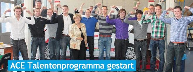 Persbericht – Studenten Automotive Industrie gestart met ACE-Talentenprogramma