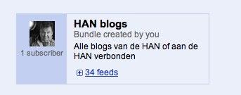 HAN blogs op mijn weblog