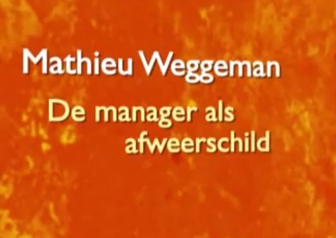 Video: Onzichtbaar Leiderschap: Mathieu Weggeman. Genieten!