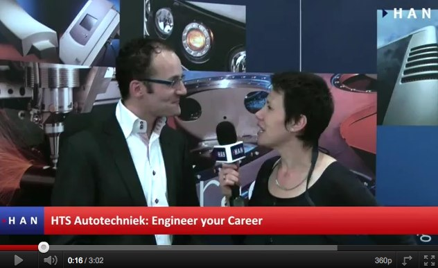Videoblog: Engineer your Career HTS Autotechniek okt 2011