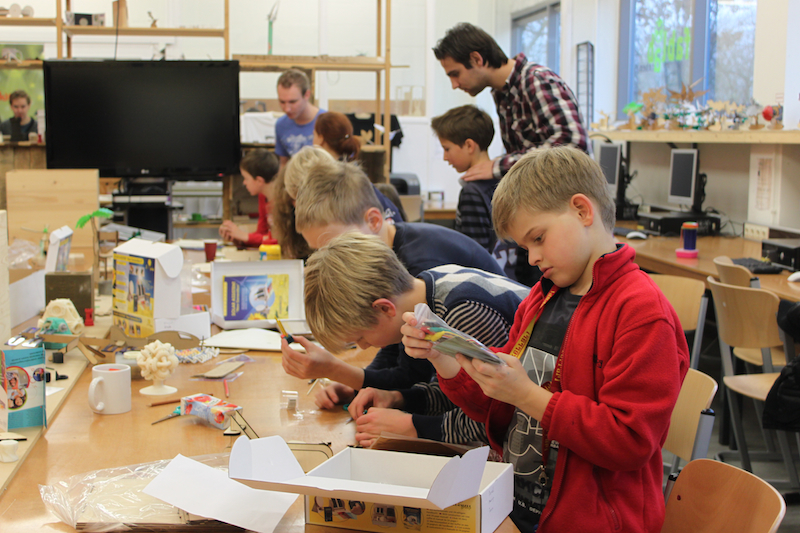 Fotoblog: Exploring the FabLab