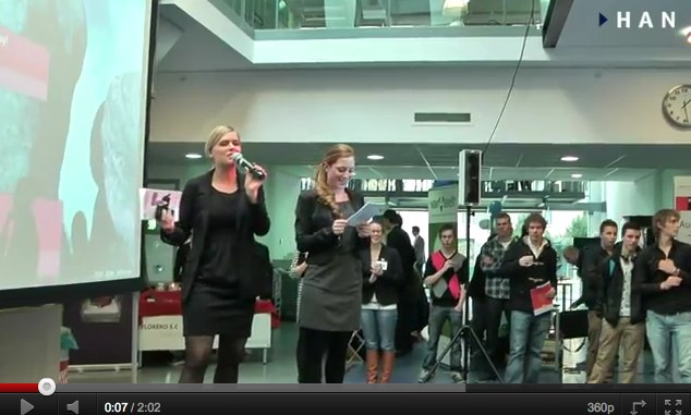 Videoblog: Impressie HAN Small Business Day 2011