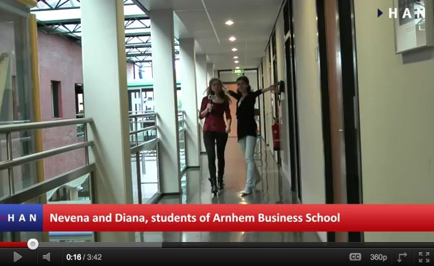 Videoblog:  Internationality in Arnhem Business School