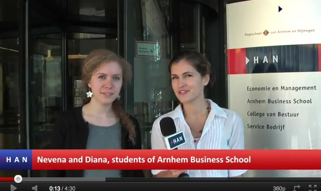 Videoblog Studystream Development at Arnhem Business School - YouTube