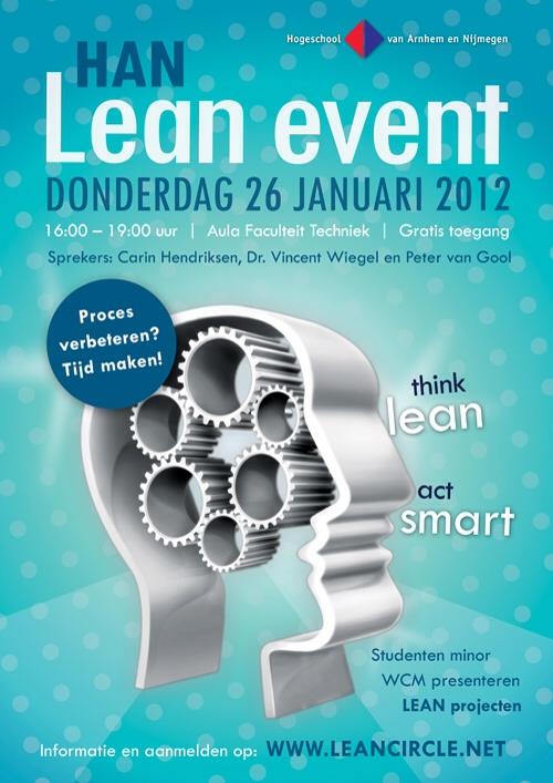 26 januari HAN Lean Event – Proces verbeteren: tijd maken!