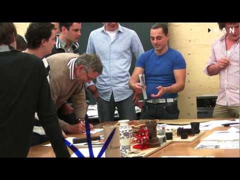 Videoblog: Studenten HAN Technische Bedrijfskunde testen Pizzasnijder in FabLab Arnhem