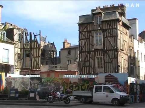 Videoblog: Studieweek HAN FEM en ILS studenten naar Rennes 2012