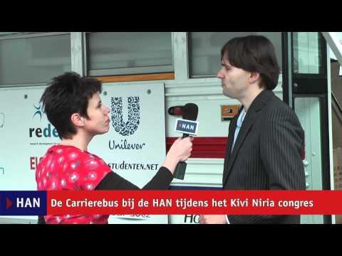 Videoblog: De Carrierebus bij de HAN tijdens Kivi Niria congres