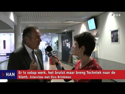 Videoblog: Interview met Elco Brinkman op de HAN
