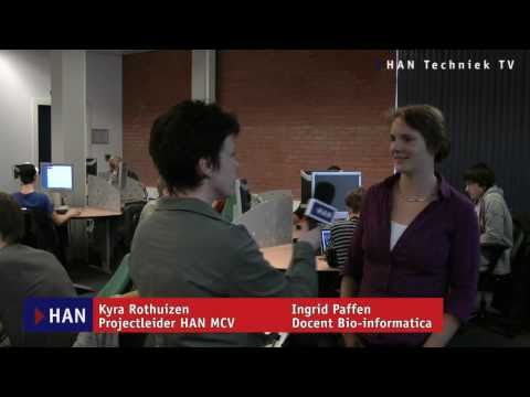 Videoblog: HAN docent bio-informatica Ingrid Paffen over de opleiding