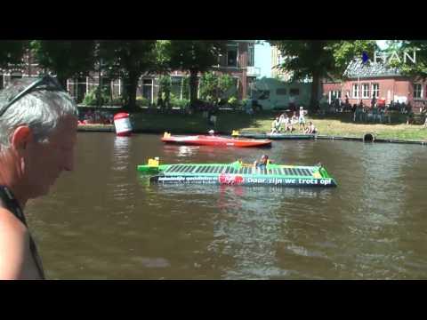 Videoblog: Impressie HAN Solar Boat 1e dag