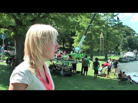 Videoblog: HAN Solarboat de 1e dag met pech