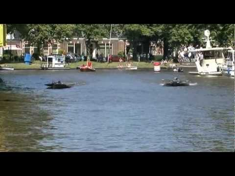 Videoblog: Frisian Solar Challenge Proloog en malheur HAN Solarboat Team