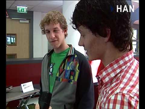 Videoblog: HAN-studenten IPO: Kampeerbedden voor Nomad