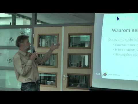 Videoblog: HAN Solarboat sponsormeeting – elektrotechniekdocent Enno Beenes