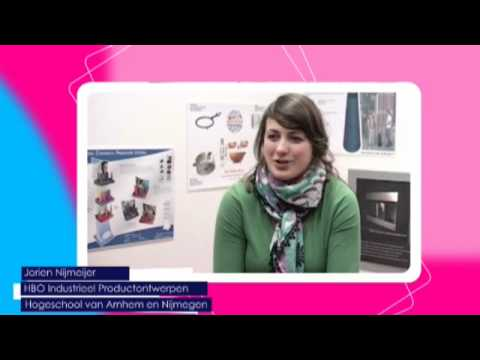 Videoblog: Jorien Nijmeijer vertelt waarom ook meisjes Industrieel Product Ontwerpen moeten doen