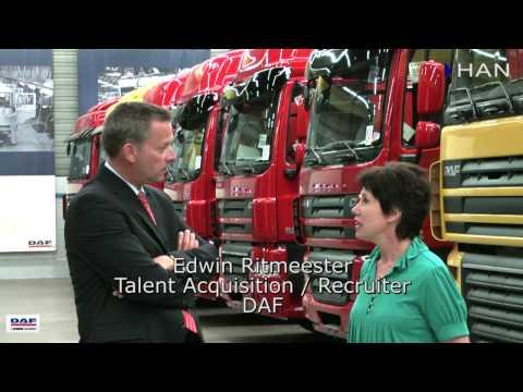 Videoblog: Edwin Ritmeester, recruiter DAF over werkgelegenheid bij DAF