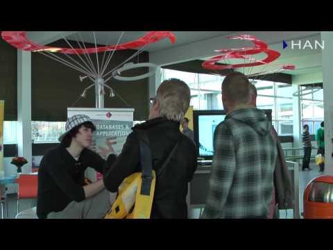 Videoblog: impressie open dag HAN Techniek