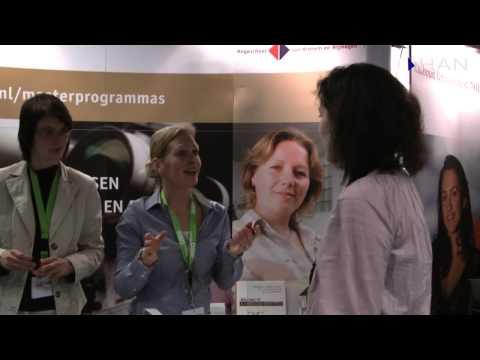 Videoblog: HAN Life Sciences op C2W CareerExpo / Masterbeurs