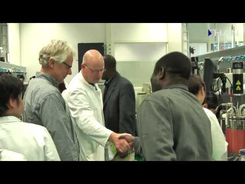 Videoblog: Visit of dr. Azokpota and dr. Edja from Benin to HAN Applied Sciences