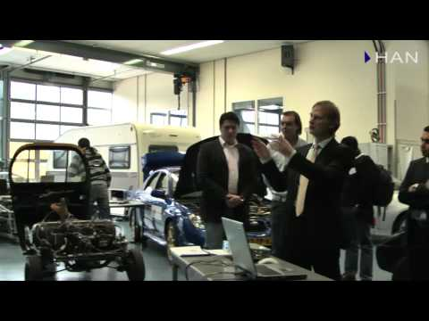Videoblog: Indian press members visited HAN University of Applied Science in Arnhem (1)