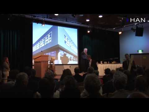 Videoblog: opening nieuwbouw HAN Applied Sciences