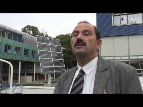 Videoblog: zonnepaneel bij HAN Techniek