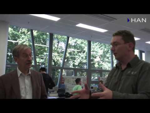 Videoblog: deel 7 nieuwbouw HAN Engineering: lab vermogenselektronica en studentenwerkstukken