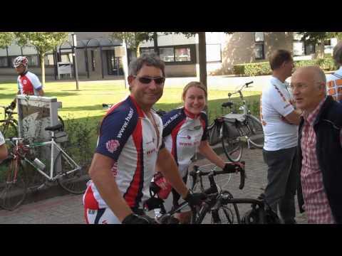 Videoblog: HBO fietstocht 2009 met HAN wielerteam