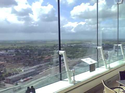 Uitzicht Achmeatoren en fragment presentatie