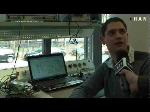 Videoblog: HAN Elektrotechniek: Robotica