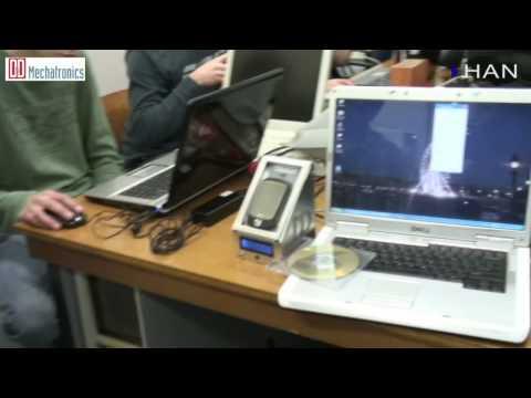 Videoblog: HAN Embedded Systems Engineering gadget voor D&D Mechatronics