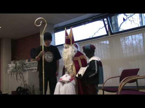 Videoblog: lecture of Sinterklaas in Sinterklaas