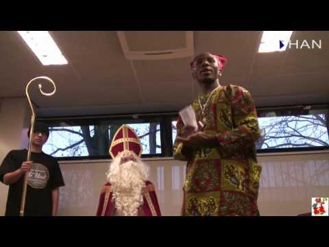 Videoblog: impression of visit of Sinterklaas at HAN HLO