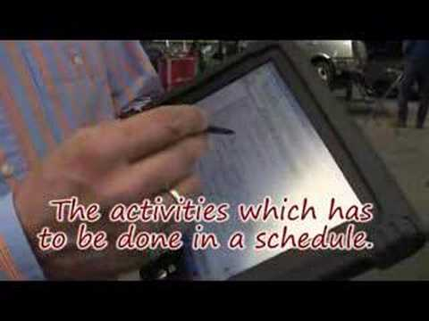 Videoblog: Le Mans Car Damage with PaceBlade tablet pc
