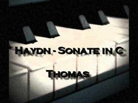 Haydn Sonate in C door Thomas